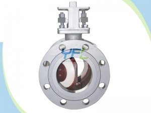 Ceramic Semi ball valve