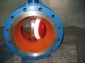 Ceramic Eccentric Semi Ball Valve