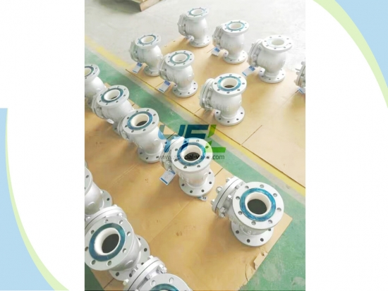 Wear Protection Ceramic Lift Type Check Valve Lubricating