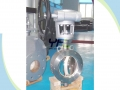 Ceramic Butterfly Valve For Abrasive Slurry