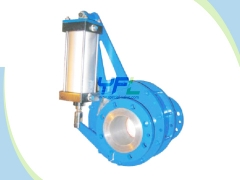 Ceramic rotating disc valve