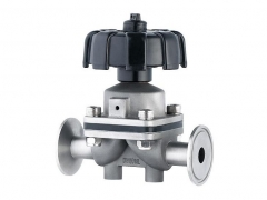 Manual Sanitary Diaphragm Valve by YFL