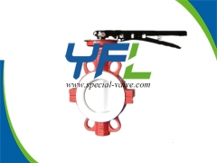 Fully PTFE Lined butterfly valve