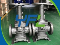 LCB Extended Stem Low Temperature Plug Valve by YFL