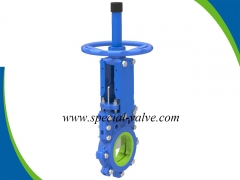 Polyurethane Lined Knife gate valve for Mining