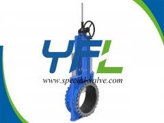 Heavy Duty Wear Resistant Knife Gate Valve by YFL