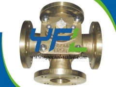 C95800 Four Way Plug Valve by YFL