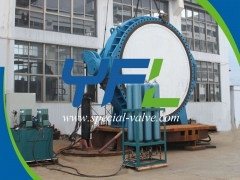 Accumulator Type Hydraulic Slow Closing Butterfly Valve