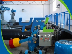 Hydro turbine inlet Hydraulic Butterfly valve