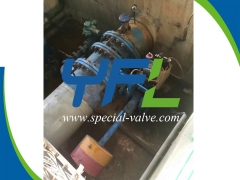 Hydraulic Butterfly valve for HPP