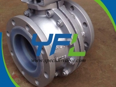 PFA Lined ball valves