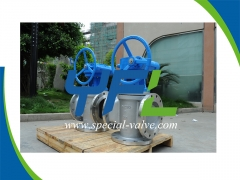 PN16 DN250 Three Way Plug Valve by YFL
