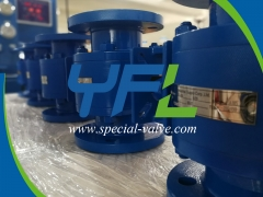 Ceramic Ball Valves for Nickel Refinery by YFL