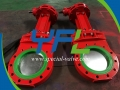 Pneumatic Polyurethane Lined Knife gate valve
