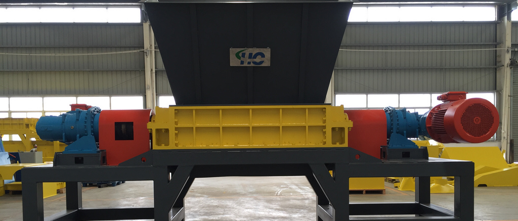 Municipal Solid Waste Double Shaft Shredder