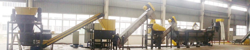Waste Plastic Crushing, Washing, Pelletizing Recycling Line