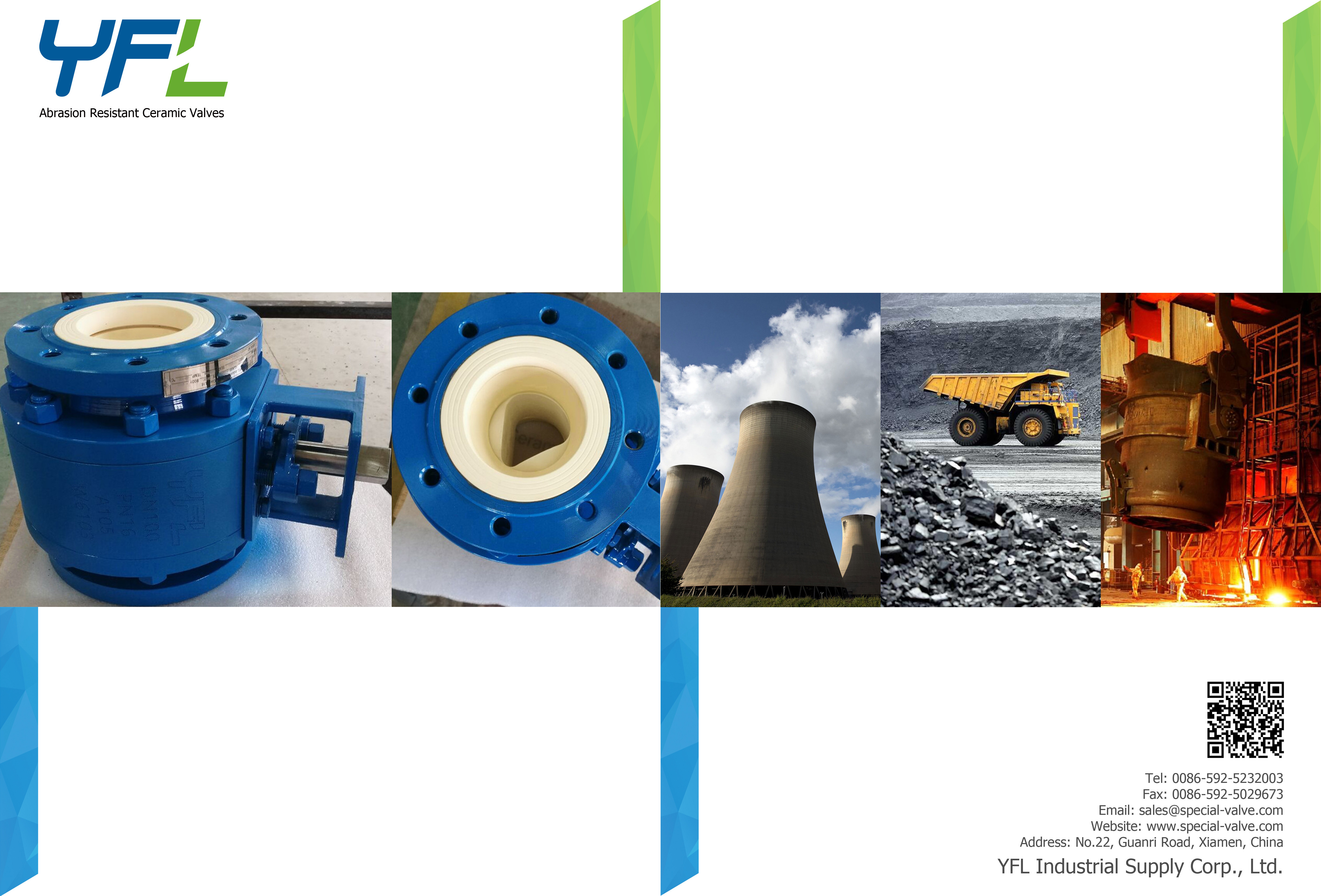 Latest Catalogue of Abrasion Resistant Ceramic Valves
