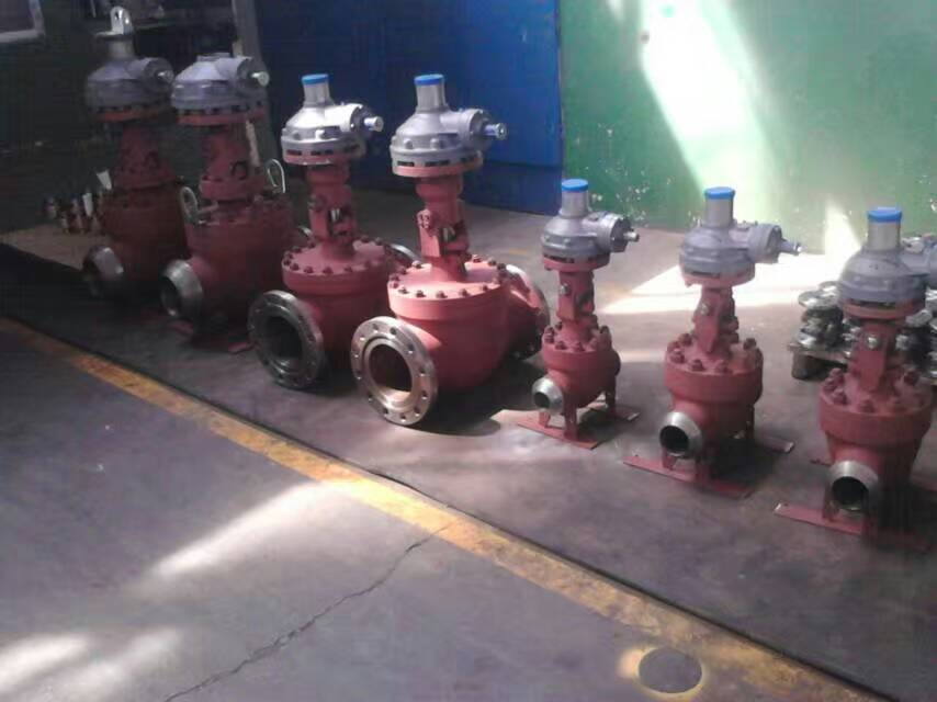 Orbit ball valves were finished at factory