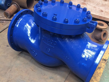 DN400 Y type / T type strainers with quick open flange for Siemens Italy