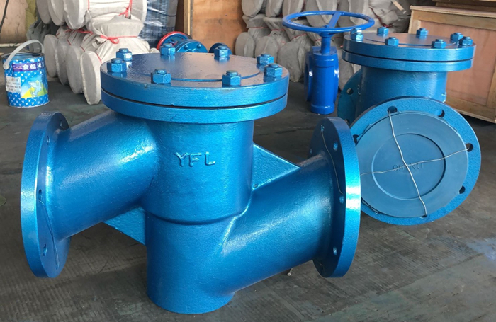 Rubber lined lift type check valves for corrosive service exported to Pakistan