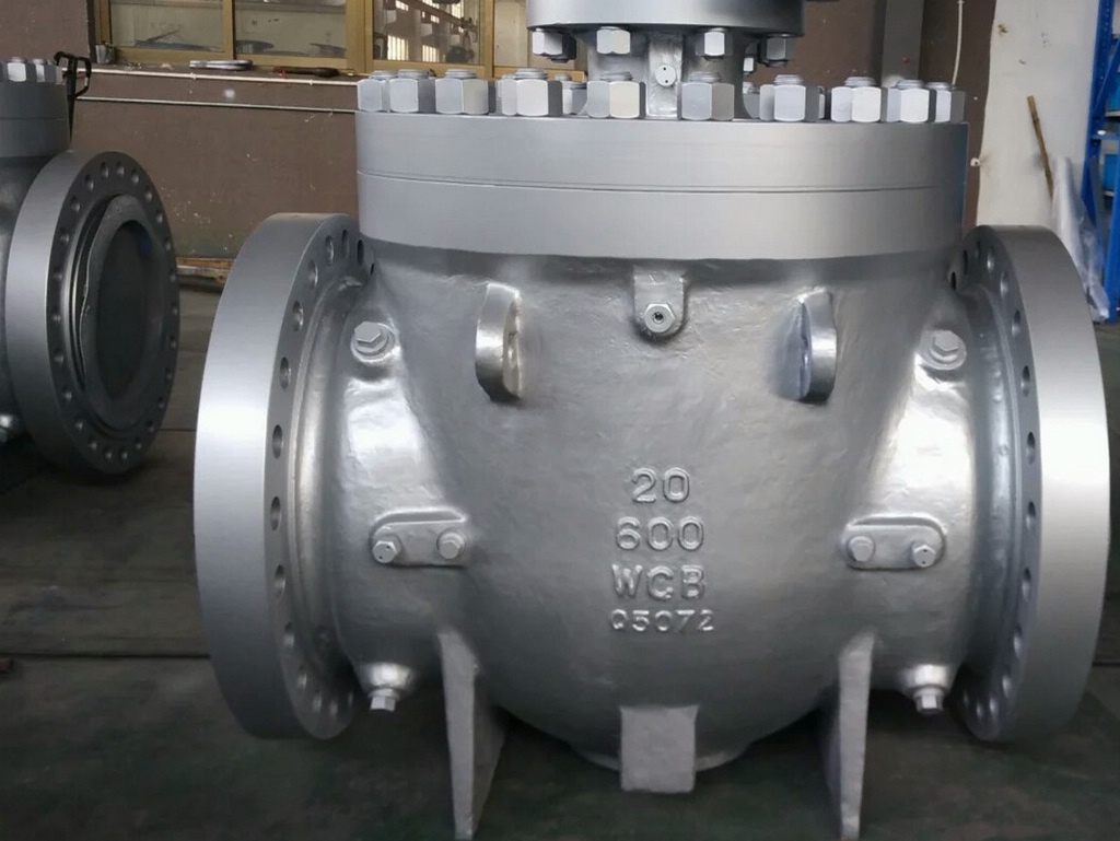 600LBS 20IN Top Entry Ball Valves Were Exported To USA